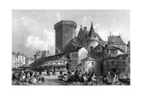 France Angouleme Giclee Print by Thomas Allom