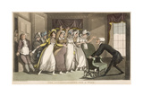 The Advertisement for a Wife Giclee Print by Thomas Rowlandson