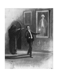 Man and Ghost Premium Giclee Print by Sidney Paget