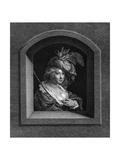 Rubens' Second Wife Premium Giclee Print