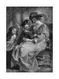 Rubens' Second Wife Giclee Print
