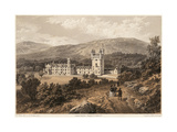 General View of Balmoral Castle Premium Giclee Print by T Picken