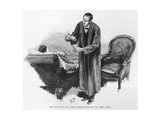 Holmes and Hatherley Giclee Print by Sidney Paget