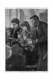 The Family Pew Giclee Print by Robert Barnes