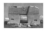 Bolivia Tiahuanoco Giclee Print by Rudolf Cronau