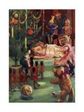 When Jane Slept Giclee Print by Ugo Matania