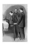 Sherlock Holmes, Clue Giclee Print by Sidney Paget
