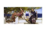 The Conversion of Paula Giclee Print by Sir Lawrence Alma-Tadema