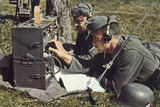 Radio, WW2 German Army Photographic Print by Unsere Wehrmacht