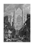 France Beauvais Giclee Print by Samuel Prout