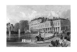 Paris Saint Cloud Giclee Print by Thomas Allom