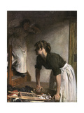 In the Wash-House Giclee Print by William Orpen