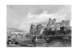 France Avignon Giclee Print by Thomas Allom