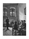 Swedish Sunday School Giclee Print by Walter Firle