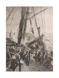Birkenhead Wrecked Giclée-tryk af Thomas M Hemy