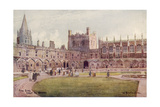 Oxford, Christ Church Giclee Print by William Matthison