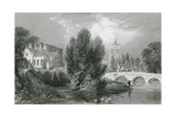 Melton Mowbray, Leicestershire Giclee Print by Thomas Allom