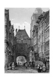 France Rouen Giclee Print by Thomas Allom