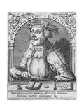 Ulrich Von Hutten Giclee Print by Theodor de Bry