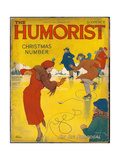 The Humorist Christmas Number 1938 - an Ice Proposal Giclee Print by W. Heath Robinson