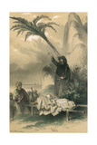 Jesuits in India Giclee Print by Theophile Fragonard
