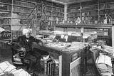 Chevreul, in His Study Photographic Print