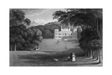 Mount Edgcumbe, Devon Giclee Print by Thomas Allom