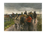 Rus, Jap War- Supplies Premium Giclee Print by Theodor Rocholl