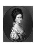 Isabella Ctss Dundonald Giclee Print by Thomas Gainsborough