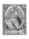 Petrarch Reproduction giclée Premium par Theodor De Brij