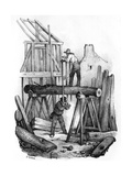 French Saw Mill Giclee Print by Victor Adam