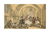 Dr Syntax and the Superannuated Fox Hunter Giclee Print by Thomas Rowlandson