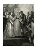 Treaty of Dover Giclee Print by Thomas Stothard