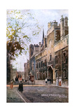 Oxford, Lincoln College Giclee Print by William Matthison