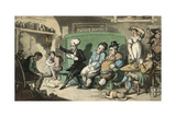 Dr Syntax Reads Aloud from His Tour Giclee Print by Thomas Rowlandson
