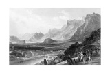 France Grenoble Giclee Print by Thomas Allom