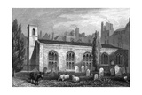 Savoy Chapel Giclée-tryk af Thomas H Shepherd