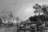 Windermere, Lake District Photographic Print by Thomas Allom