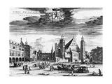 Netherlands, Hague Premium Giclee Print by W Blaeu