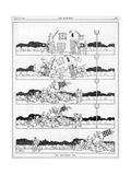 The Disturbed Nap by William Heath Robinson Giclée-tryk af W. Heath Robinson