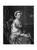 Mary Duchess Montagu Giclee Print by Thomas Gainsborough