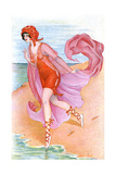 Bathing Beauty C1910 Giclee Print by Xavier Sager
