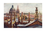 Oxford, Dreaming Spires Giclee Print by William Matthison