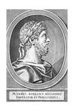 Marcus Aurelius Giclee Print by W Faithorne