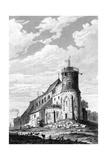 Paris, France - Eglise de Montmartre, with Semaphore Giclee Print