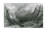 The Vale of the Winnets, Peak District Giclee Print by Thomas Allom