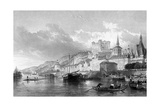 France Saumur Giclee Print by Thomas Allom