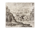 Montezuma and Dream 1518 Giclee Print by Theodor de Bry