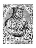 Johannes Draconites Giclee Print by Theodor de Bry
