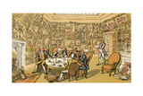Dr Syntax with My Lord Giclee Print by Thomas Rowlandson